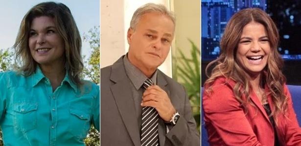 Cristiana Oliveira, Kadu Moliterno e Nívea Stelmann: ex-globais na Record